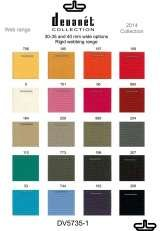 Some of the webbing colours, we can offer