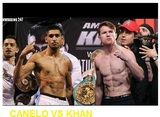 Pricelists of Canelo vs Khan Live Stream || Online PPV Boxing