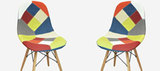 Funky Patchwork Chairs
