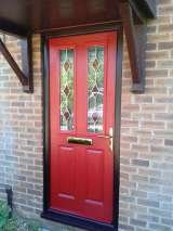 We offer a range of composite doors which give a great level of security & look good too.
