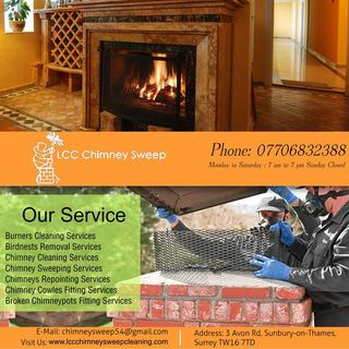 LCC Chimney Sweep | Chimney cleaning in Surrey