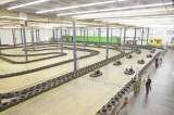 70,000Sq.Ft. Indoor Go-Kart Track