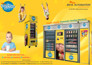 BETA AUTOMATION CUSTOMIZED VENDING MACHINE MANUFACTURING COMPANY