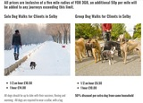 Pricelists of Canine To Five Dog Walking & Pet Services
