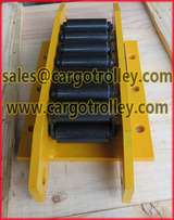 Equipment transport dolly for moving and handling works www.cargotrolley.com