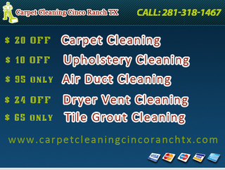 Carpet Cleaning Cinco Ranch TX