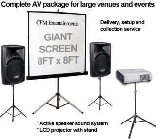 CFM - Projector AV Hire Audio Visual Companies Cambridge Peterborough Huntingdon Norwich Norfolk Bury St Edmunds Ipswich Suffolk Cambridgeshire - Call Us On 0843 289 2798