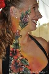 Profile Photos of Spark face and body art