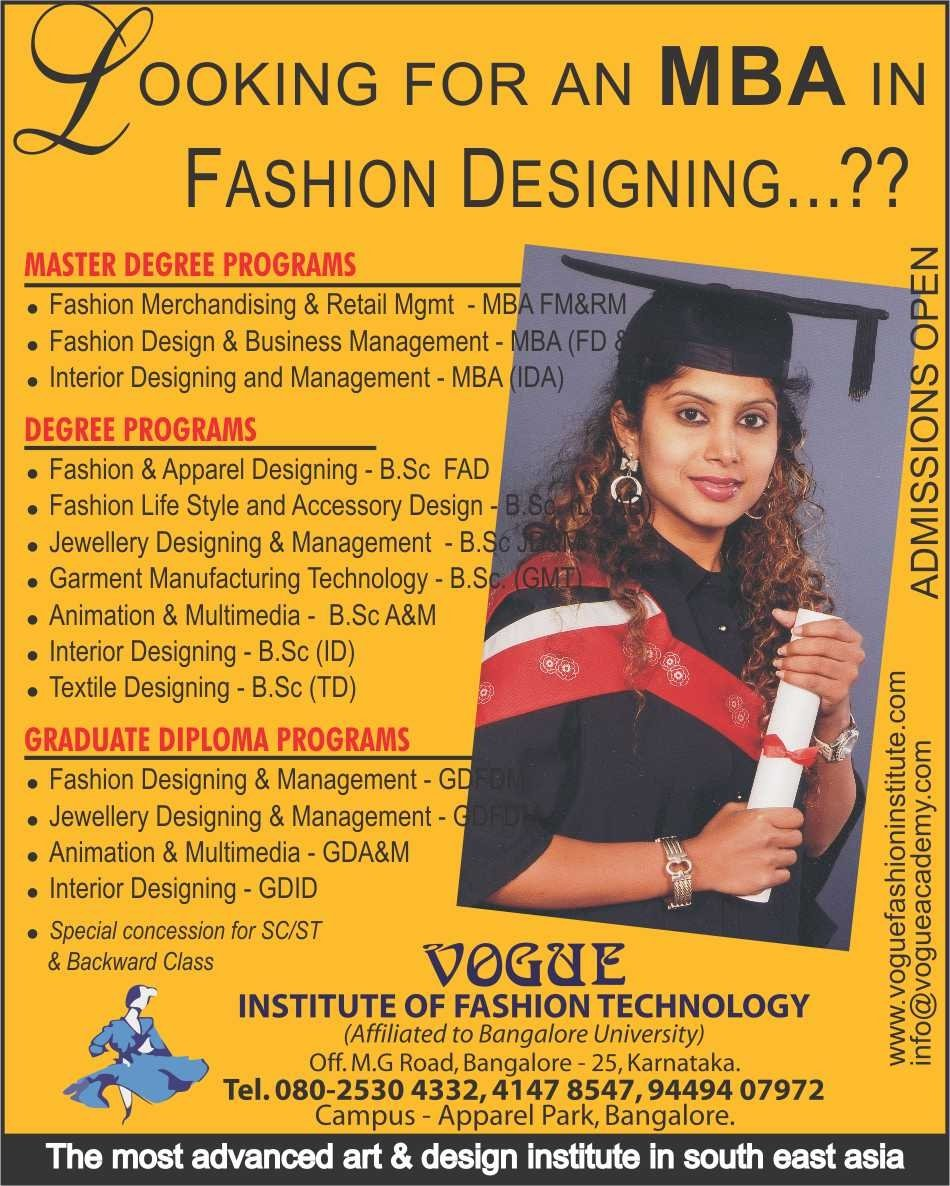 Vogue institute of fashion technology in bangalore 28
