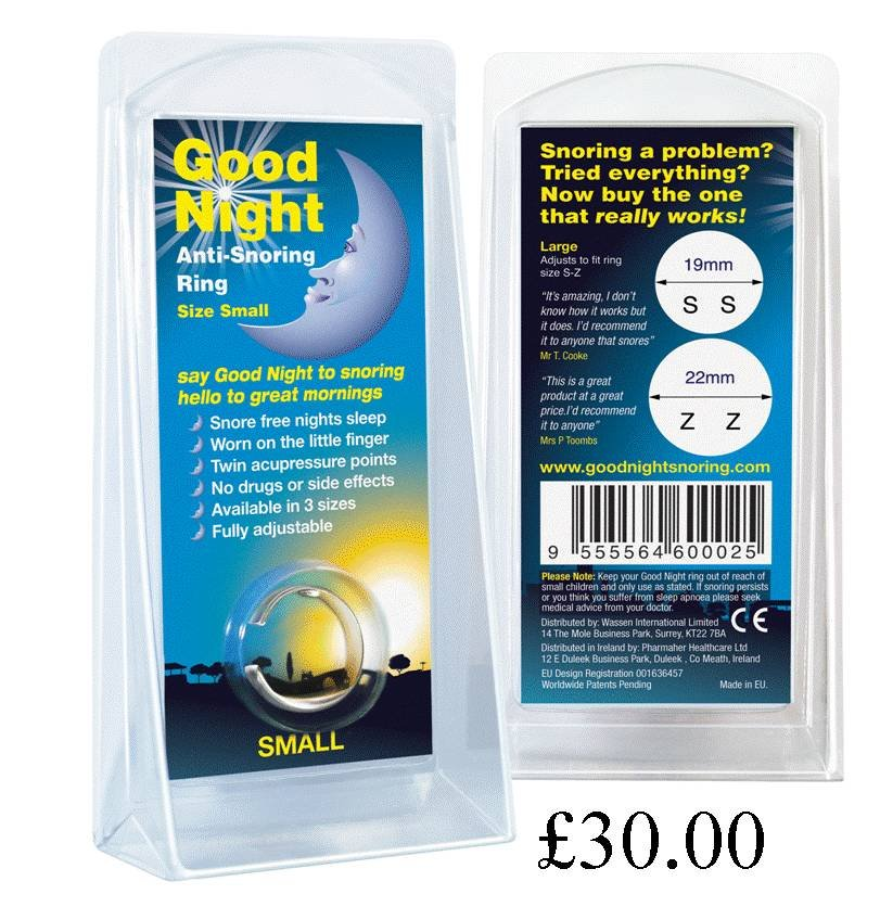 Pricelists of Good Night Anti-Snoring Ring Level 2 - Photo 2 of 2