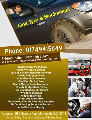 Link Tyre & Mechanical | Steel and Alloy Rims in Moranbah