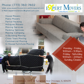 Expert Movers Inc | Commercial Moving Services in Chicago