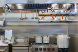 Professional kitchen in a restaurant, Fan Services LTD, London
