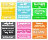 Pricelists of Urban Air Trampoline Park