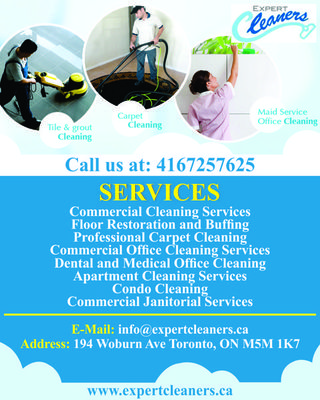Expert Cleaners Inc. | Professional Carpet Cleaning	Toronto