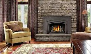 Gas fireplace insert services
