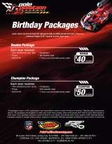 Pricelists of Pole Position Raceway