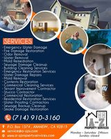 A-Z Property Services | Water removal companies	Orange County, Orange County