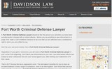 Pricelists of Criminal Defense Lawyer Fort Worth