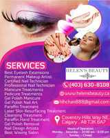 Pricelists of Helen's Beauty Spa | Certified Microblading eyebrow Calgary