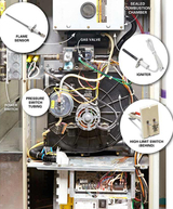 Forced Air furnace certification process, TDS Furnace, St Paul