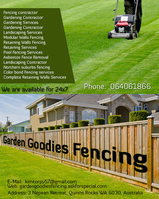 Garden Goodies Fencing | Complete Retaining Walls Services in Perth