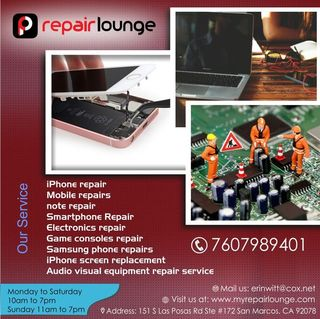 Repair Lounge | Electronics repair Shop San Marcos