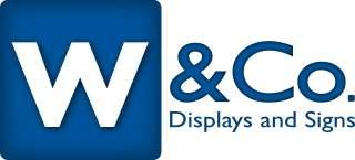 W&Co Displays and Signs
