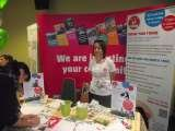 Our stand at the careers fair