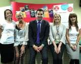 Our team with Edward Timpson (Conservative representative)