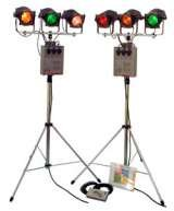 Portable stage lighting hire for exhibitions and promotions