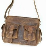 Distressed leather bag Hispanic Living - Contemporary Silver Jewellery and Home Decor Customer Service 78 York Street