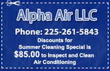 Profile Photos of Alpha Air, LLC - Baton Rouge Air Conditioning