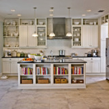 Glass kitchen cabinet doors