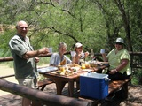 Overnight and camping tours with Alan
