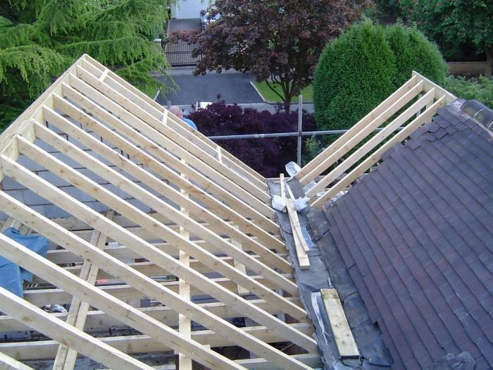 Traditional Pitched Roof With Land Valley Traditional Roofing Of Loftech  Conversions Ltd 1 Elm Tree Drive