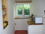 Flat kitchenette , Honeysuckle Cottage Bed & Breakfast, Broughton Gifford