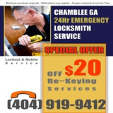 Locksmiths Chamblee