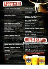 Pricelists of Buffalo Bob\'s Canadian Pub