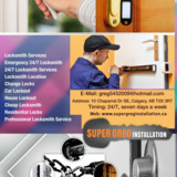 Super Greg Installation | Calgary Locksmith