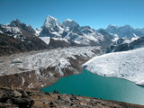 Gokyo lake in Everest region