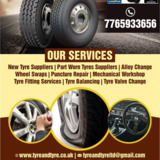 Tyre and Tyre Ltd    New tyre suppliers Tyldesley