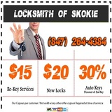 Pricelists of Locksmith of Skokie