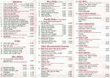Pricelists of Lin Hong Garden Chinese Takeaway