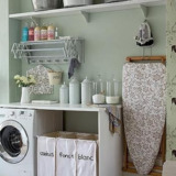 Laundry room cabinets