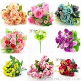 Sell artificial silk flowers & plants for home wedding party deco