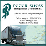 Menus & Prices, Peter Suess Transportation Consultant Inc (PSTC), Brantford