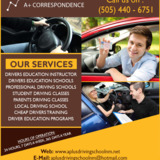 A+ Correspondence Driving School | Driving lessons for students Los Lu