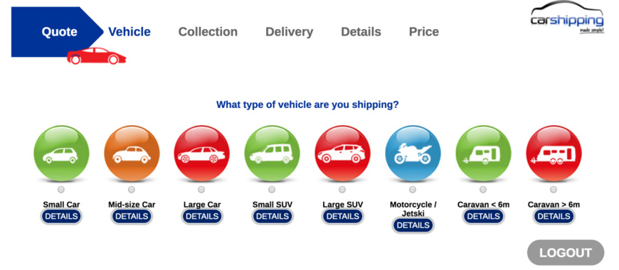 Pricelists of Car Shipping Made Simple 101 New London Road - Photo 1 of 1