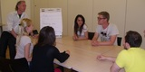 Group language lesson, UK Language Project London, London